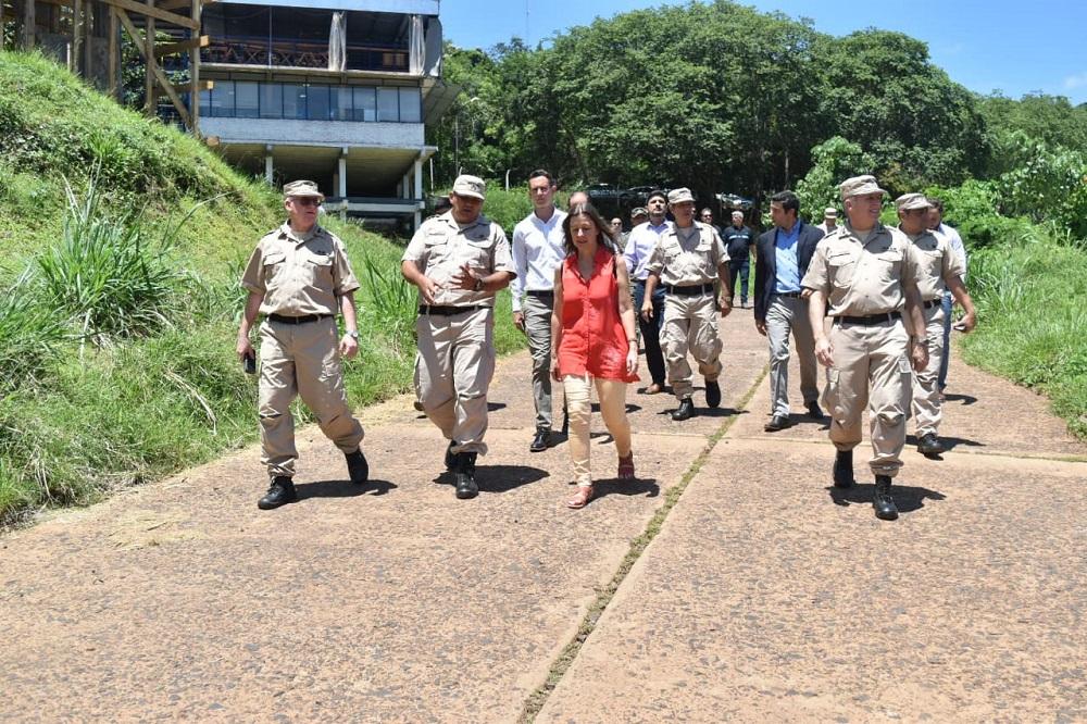 """""""Fortalecer la inteligencia y la investigación criminal es una línea central de nuestra gestión"""", dijo la ministra de Seguridad en Iguazú"""