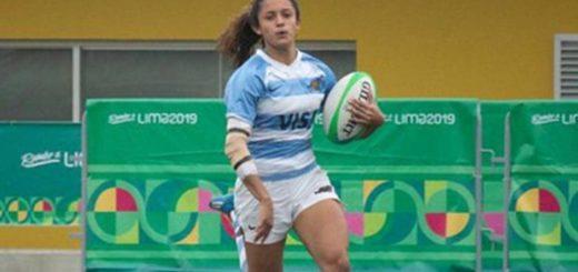 Rugby femenino: Araceli Oviedo de Eldorado en la concentración de la Selección Argentina