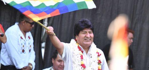 Evo Morales presentó su candidatura a senador nacional de Bolivia