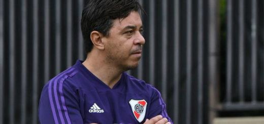Marcelo Gallardo tuvo que dejar la práctica por un cólico renal y podría quedar internado