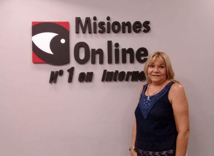 «En muchos eventos culturales y sociales, se mueven tremendamente las redes de trata de personas y queremos combatirlas», dijo Sandra Barrios