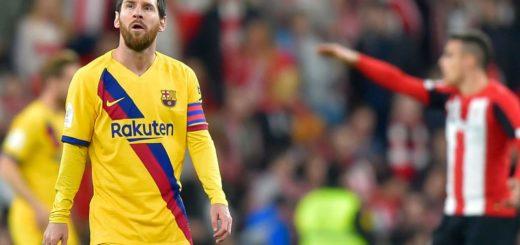 Copa del Rey: con Messi en cancha, el Barcelona quedó eliminado