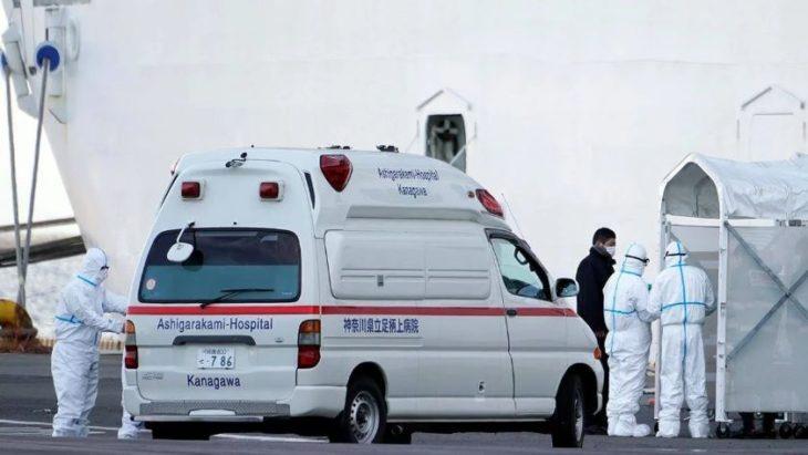 Coronavirus: un pasajero argentino del crucero en Japón contrajo el virus