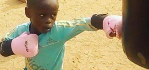 ¿Quién es el niño de cuatro años que se convirtió en la mayor promesa del boxeo mundial?