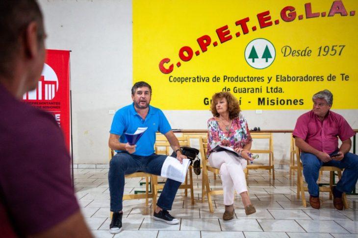 Diputados radicales se reunieron con productores por el robo de yerba