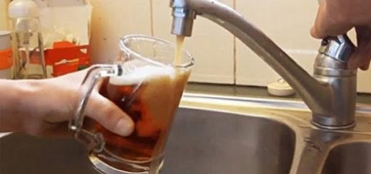 En la India llenaron un pozo de agua con alcohol y ahora sale cerveza de las canillas