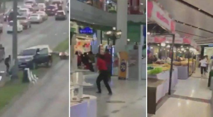 Continúa operativo para capturar al soldado que mató 21 personas en Tailandia