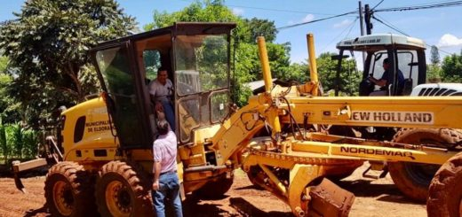 Eldorado: el intendente estuvo supervisando obras de mejora y mantenimiento en la ciudad