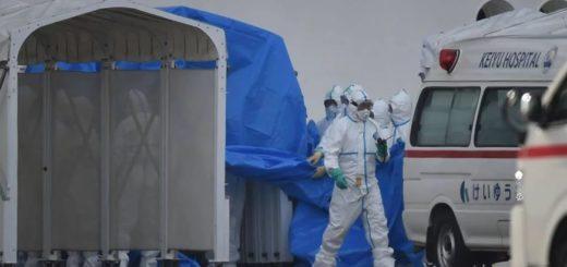 El argentino con coronavirus sigue hospitalizado, hay 3 nuevos casos en el crucero y ya son 724 los muertos en el mundo