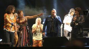 Cosquín Rock: León Gieco, Nito Mestre, Ciro y los Decadentes saludaron a la música de Charly García