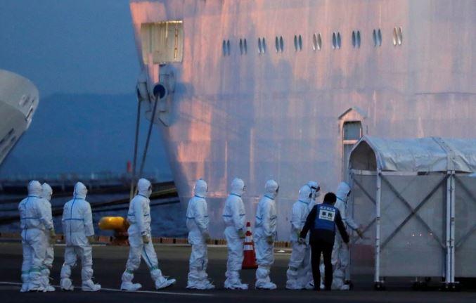 Japón: detectaron 60 nuevos casos de coronavirus en el crucero y ya son 130 contagiados a bordo del Diamond Princess