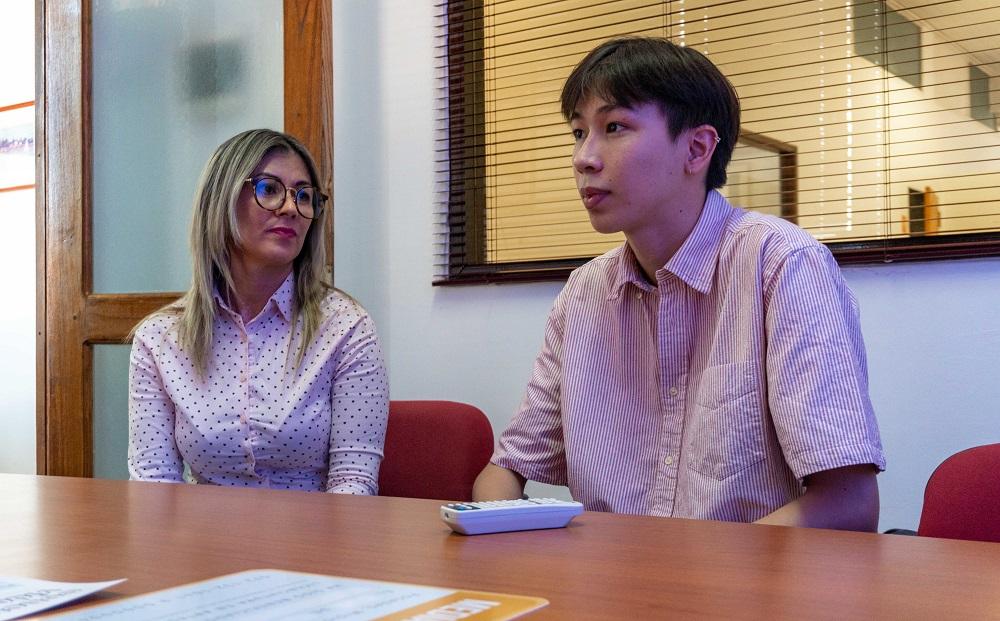 La Universidad Gastón Dachary presentó al ganador del concurso Videominuto III