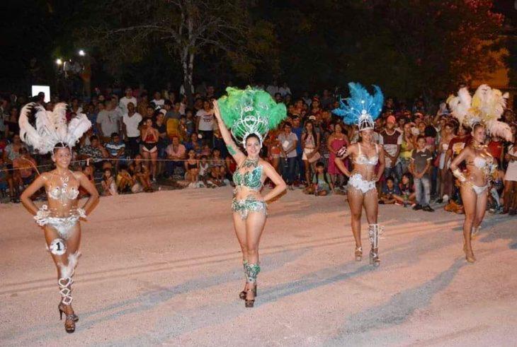 Montecarlo vivió un fin de semana a puro carnaval