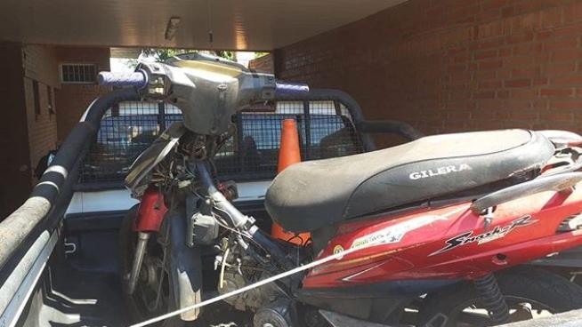 Policías recuperaron en Posadas una motocicleta robada hace tres años en Jardín América