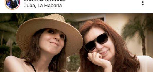Cristina publicó en Instagram la primera foto de su hija en Cuba
