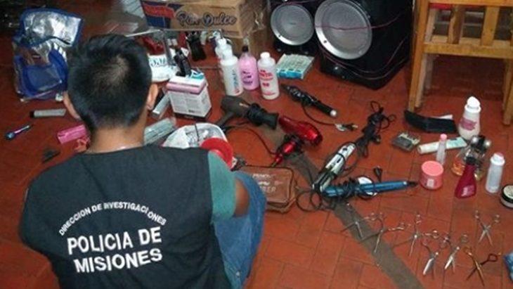 Cayó un dúo que robó tres peluquerías en Posadas