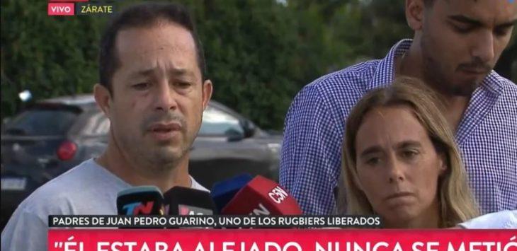 Hablaron los padres de uno de los rugbiers liberados por el crimen de Villa Gesell: «Fue terrorífico tener a un hijo en prisión»