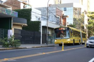 Tránsito en Posadas: suman un carril extra al corredor del transporte urbano en calle Junín