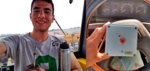 Un joven diseñó un inhibidor que impide el arranque del vehículo si el conductor está alcoholizado