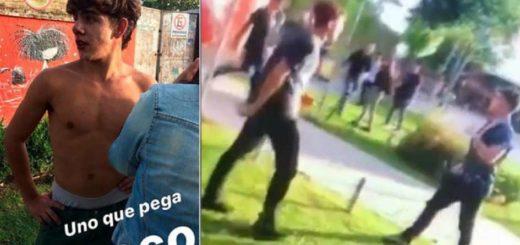 Video: así los rugbiers golpearon y mandaron al hospital a un joven un año atrás