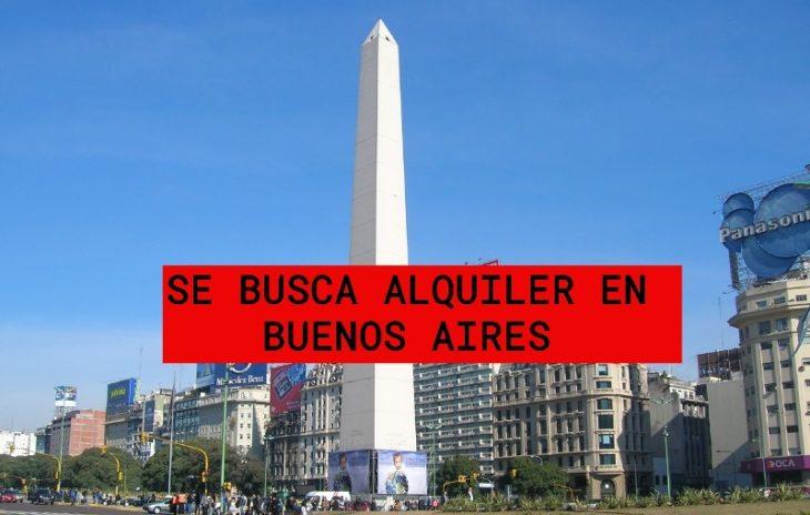 Se busca alquilar departamento en Buenos Aires