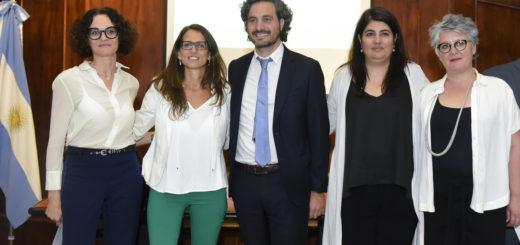 Cafiero y Gómez Alcorta encabezaron capacitación sobre la Ley Micaela en la jefatura de Gabinete