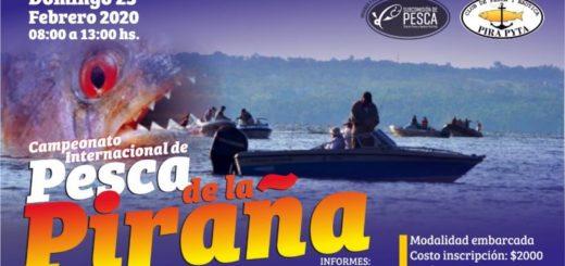 El Pirá Pytá organiza una nueva edición del Campeonato Internacional de la Pesca de Piraña