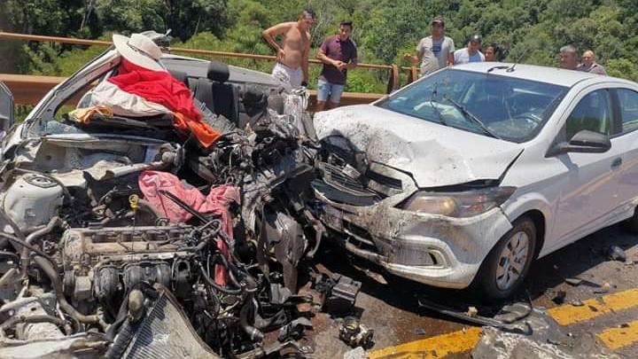 Varios muertos tras un choque sobre la Ruta 12 a la altura de Caraguatay