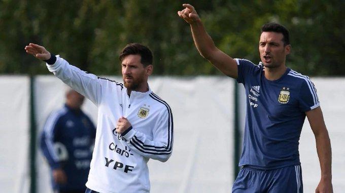 """Fútbol: Scaloni, """"Ya no somos los mejores del mundo"""""""