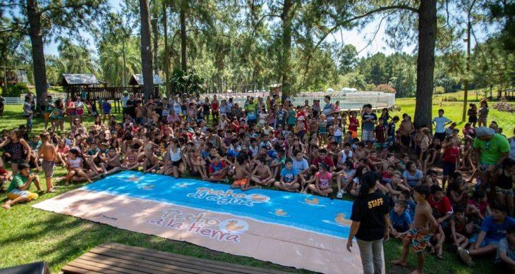Eldorado: más de mil niños participaron este año de la Colonia de Vacaciones