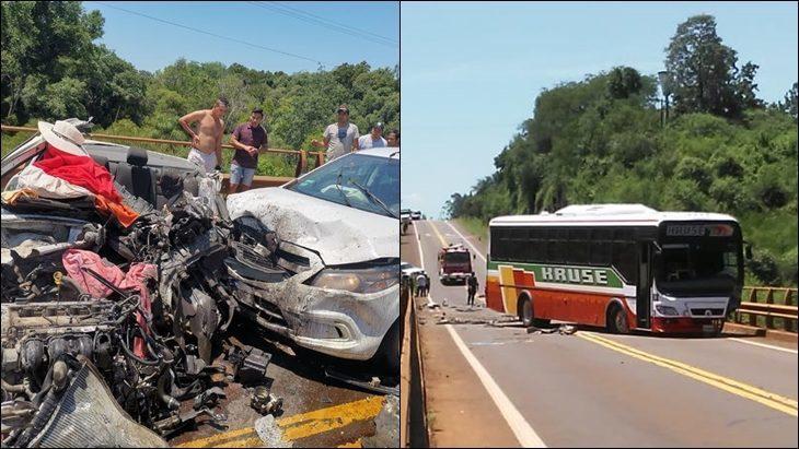 Triple Choque en Caraguatay: son 7 los heridos e identificaron a las víctimas fatales