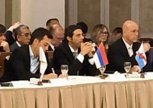 El ministro Pérez participó de la primera reunión del Consejo de Seguridad Interior 2020