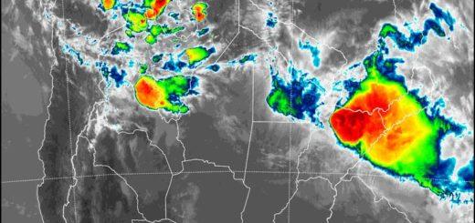 """Advierten por riesgos de """"inundaciones repentinas"""" esta noche en Posadas"""