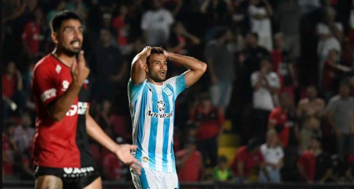 Superliga: Colón y Racing igualaron en Santa Fe