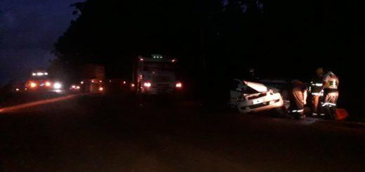 Nueve de Julio: falleció un hombre involucrado en un cuádruple choque sobre ruta 17