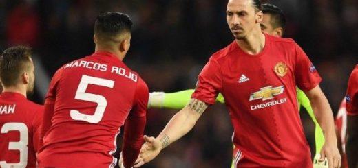 """Marcos Rojo reveló una fuerte pelea que tuvo con Zlatan Ibrahimovic: """"¿Qué te pasa narigón?"""""""