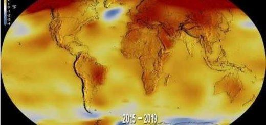 La NASA muestra en un estremecedor video cómo el mundo es cada vez más caliente