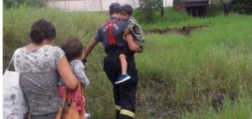 Posadas: la tormenta dejó a una familia casi en la calle y piden ayuda