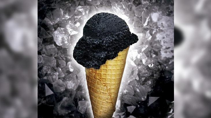 """Duomo incorporó un nuevo, único e innovador sabor de helado: """"Diamante Negro"""""""