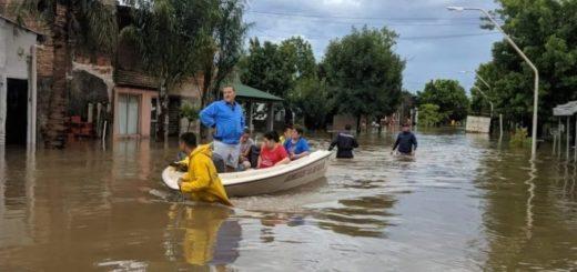 Un temporal azotó la zona Centro y Norte del país y llegaría este martes a Misiones
