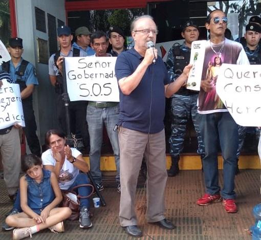 """Líder de la CCC Eldorado denuncia presiones para que disponga su """"estructura"""" a favor de manifestaciones contra la CEEL"""