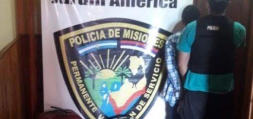 """Cayó """"narcovalijero"""" con más de 8 kilos de marihuana en la terminal de Jardín América"""