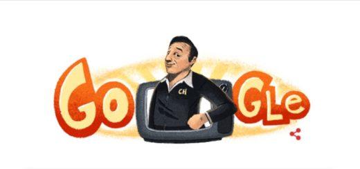 Hoy Roberto Gómez Bolaños cumpliría 91 años y Google lo homenajea con un doodle