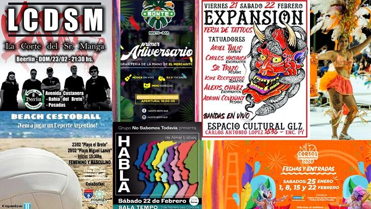 ¡Sin excusas!: llega un finde extra largo con propuestas imperdibles en Posadas y la región