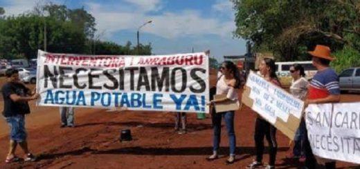 Problemática del agua en San Carlos- Corrientes: denuncian un supuesto desvío de fondos para corregir negligencia en las obras de la primera etapa