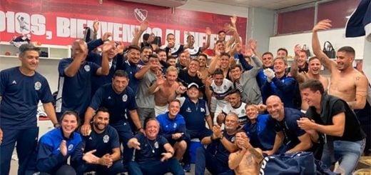 El Gimnasia de Maradona venció a Independiente en la última jugada del partido