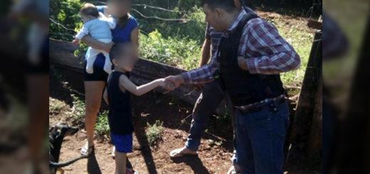 Un niño desapareció en el monte y cuando lo encontraron dijo que se perdió mientras seguía a un perro