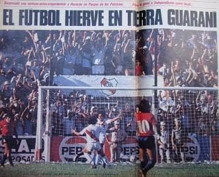 Se cumplen 35 años del histórico triunfo de Guaraní contra el campeón intercontinental