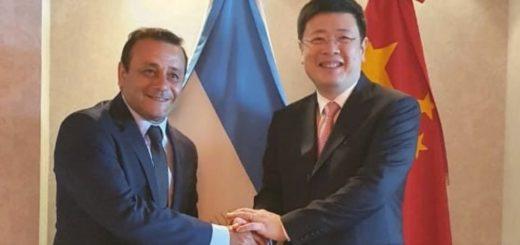 Oscar Herrera Ahuad manifestó el apoyo de Misiones al embajador de China en la Argentina