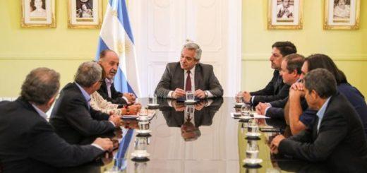 El Presidente se reunió con representantes sindicales de la educación